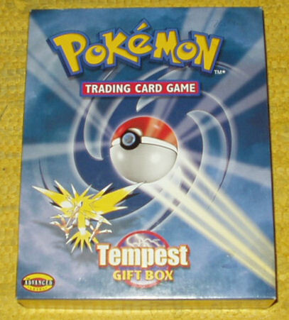 Pokemon Trading Card Game Tempest Gift Box