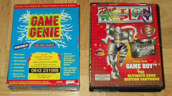 Game Genie & Pro Action Replay