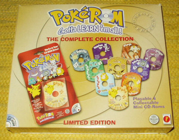 PokeROM Gotta learn 'em all. The complete collection Limited Edition