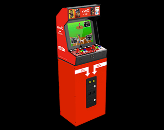 To make a full size arcade with a MVS style base