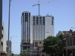 Hilton Tower under construction
