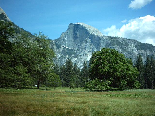 Half Dome and Meadow - Spring 2005