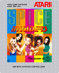Spice Invaders (front)