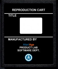 AtariAge - Reproduction label