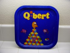 Q*bert Serving Tray