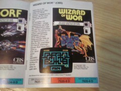 Wizard of Wor Colecovision