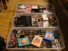 some of my boxes of games