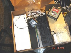 7800 Box which contains my original Atari from 1987