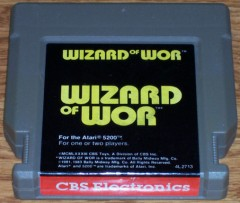 Atari 5200 Game - Wizard of Wor
