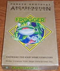 Atari 5200 Game - Frooger (Boxed)