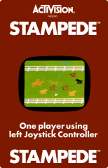 Activision's Stampede in HES label version