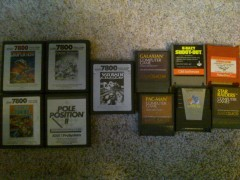 7800 and 8-bit games