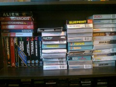 2600, 5200, and Colecovision boxed games