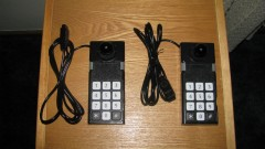 ColecoVision Controllers with ball knobs and straightened cords