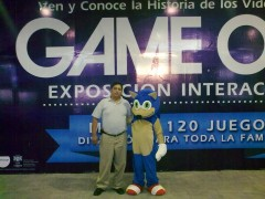 Entrada Expo Game On Cd. Monterrey,México!