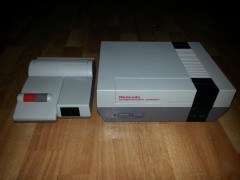 My Top Loader and Toaster NES systems