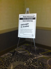 Sign for the CTI Friday gathering