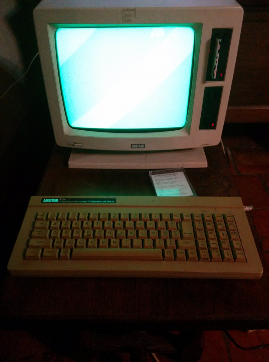 Amstrad PCW : found one! - Classic Computing - AtariAge Forums