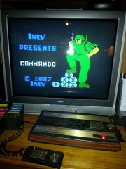 Commando Title Screen