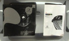 "E3 2005 promotional book and a retailer ""Preparing for Gizmondo Launch"" looseleaf booklet"