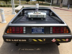 Ernest Cline's DeLorean