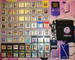 Current Game Boy Library as of March 2015