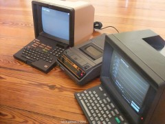 Minitel 2 and Alcatel TELIC