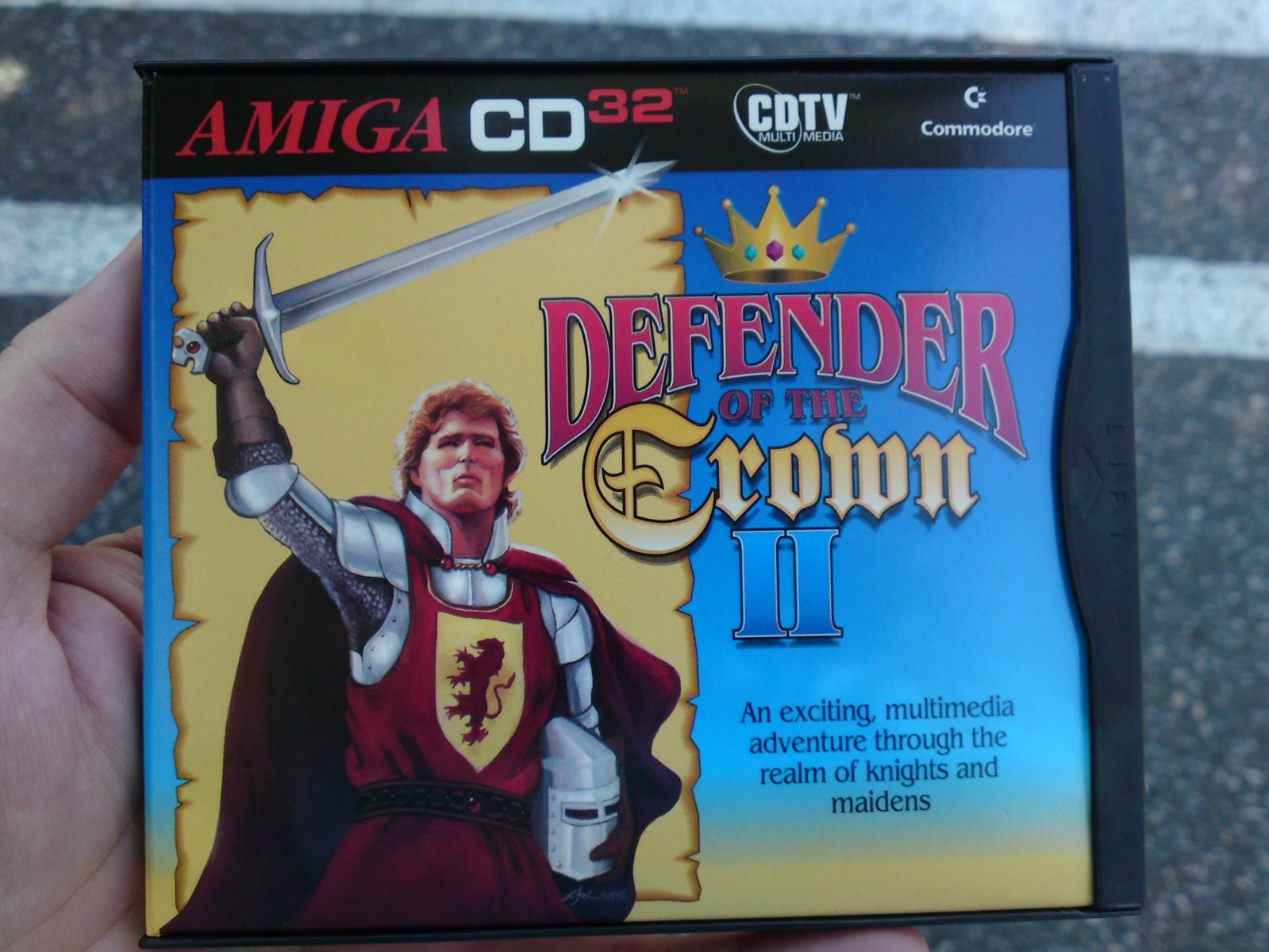 """Defender of the Crown II"" for CD32"