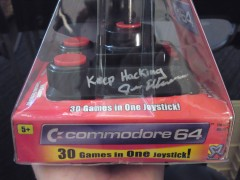Jeri Ellsworth signed my C64 DTV