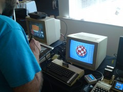 Re-creating the Amiga Boing Ball on an Atari 800XL with TouchTablet