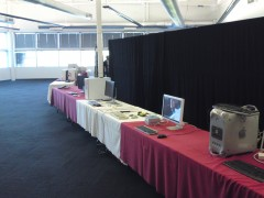 Exhibit hall (just before open)