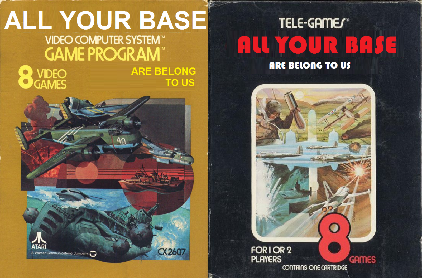 ALL YOUR BASE BOMBER
