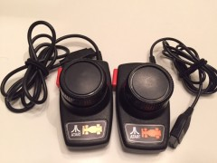 Atari Heavy Sixer Driving Controllers