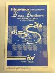 Buzz Bombers manual in Italian