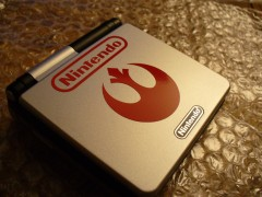I call this my Rebel GBA SP