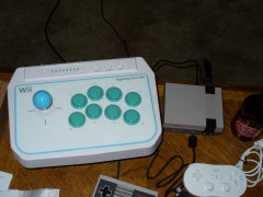 Wii Fighting stick does Not work with the Mini