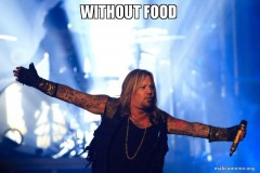 without food