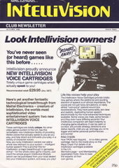 Intellivision Club Newsletter - Issue #2