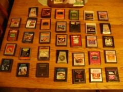 Darth Duke's Atari 2600 Cartridge Collection as of 9/28/2016