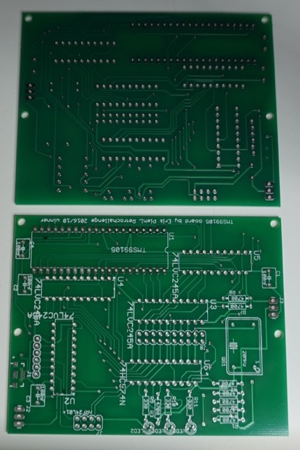 Board, top and bottom sides