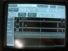 TMS99105 running as TMS99110 signals