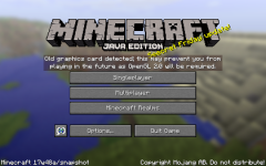 Minecraft will be required OpenGl 2.0
