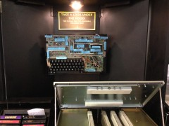 Experience the Texas Instruments TI-99/4a: Right interior upper tight shot