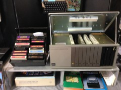 Experience the Texas Instruments TI-99/4a: Right interior lower tight shot