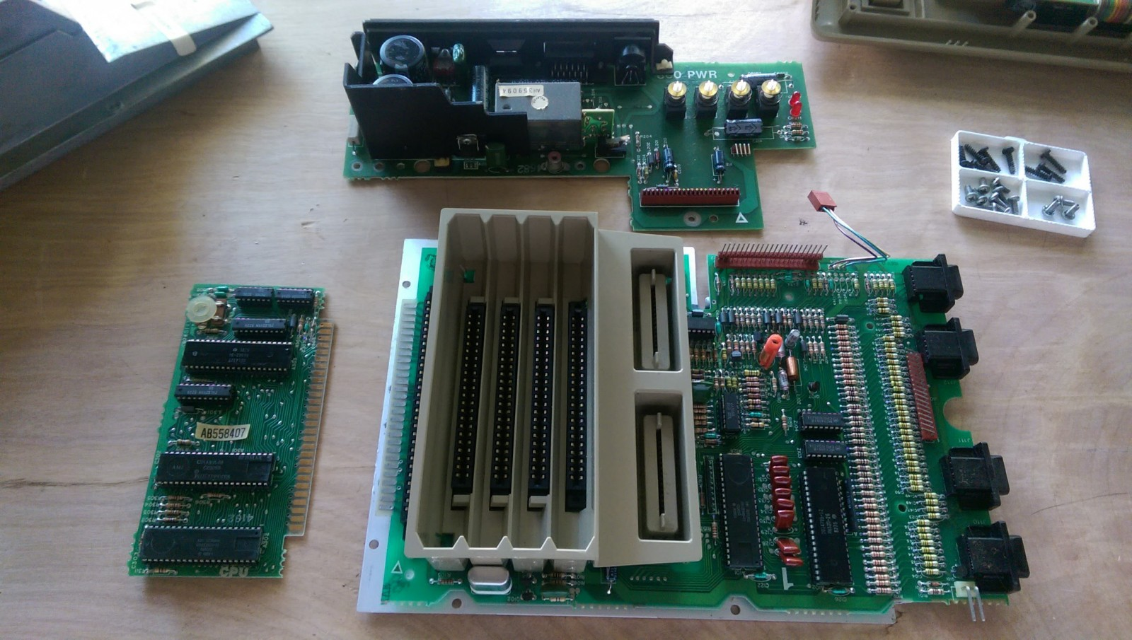 Overview of all components