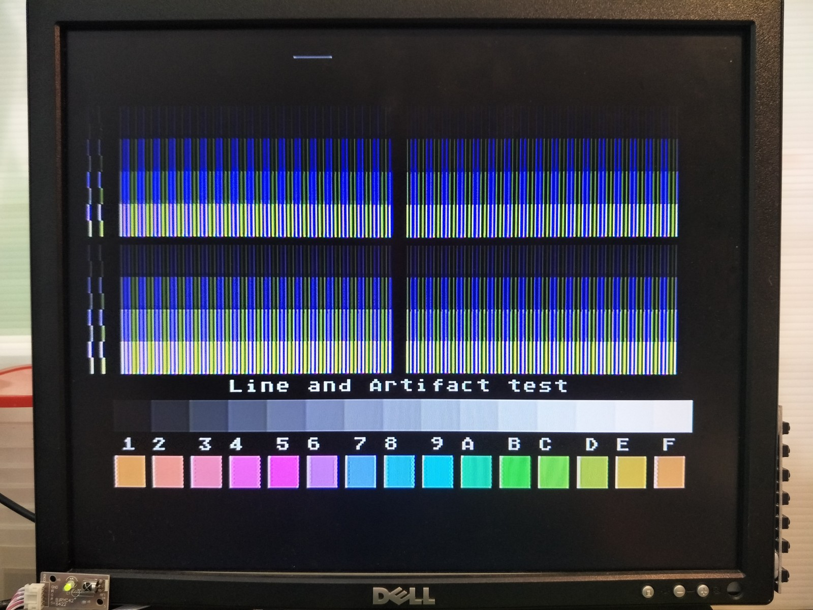 XEGS Composite Output on LCD AFTER UAV Mod