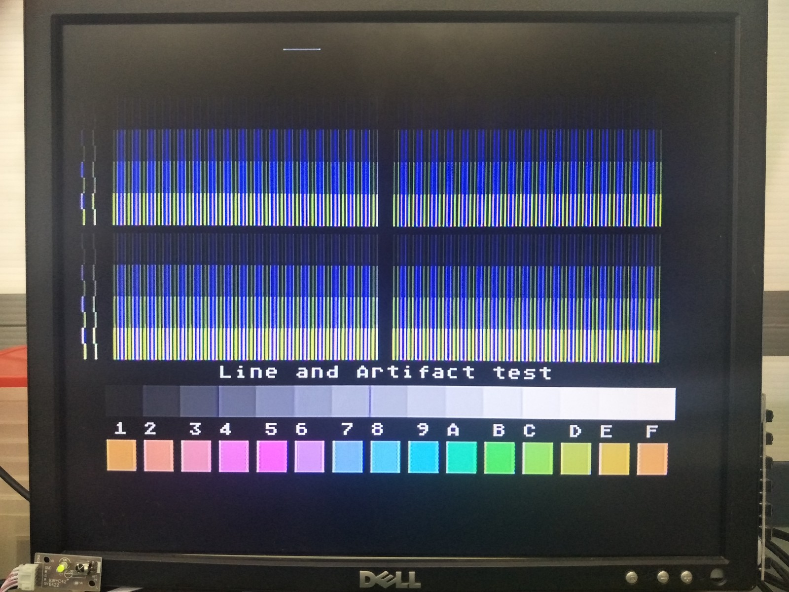 XEGS Composite Output on LCD BEFORE UAV Mod