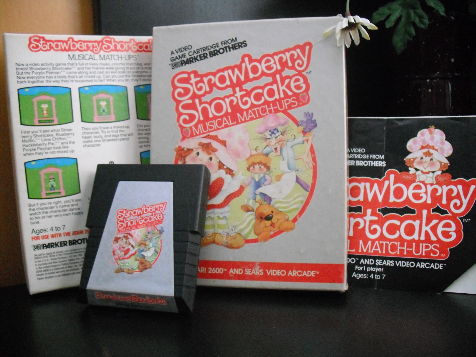 Strawberry Shortcake Musical Matchups (Parker Brothers)