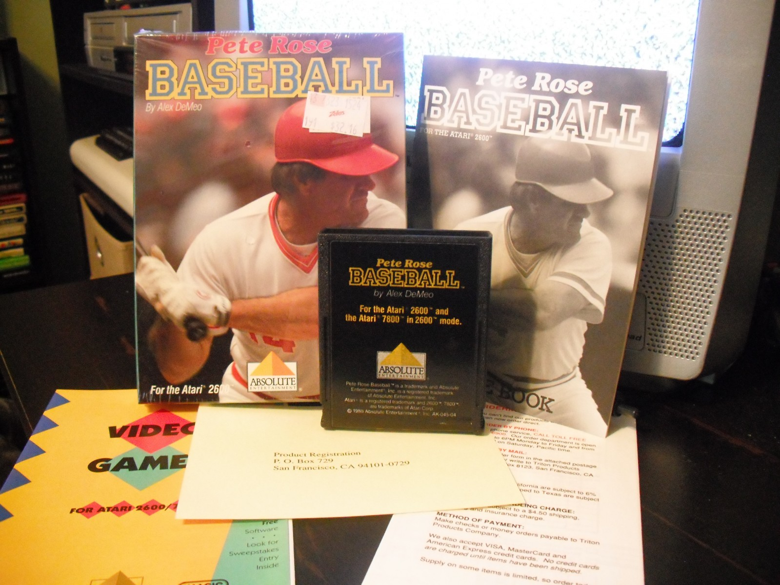 Pete Rose Baseball (Absolute)(Boxed)
