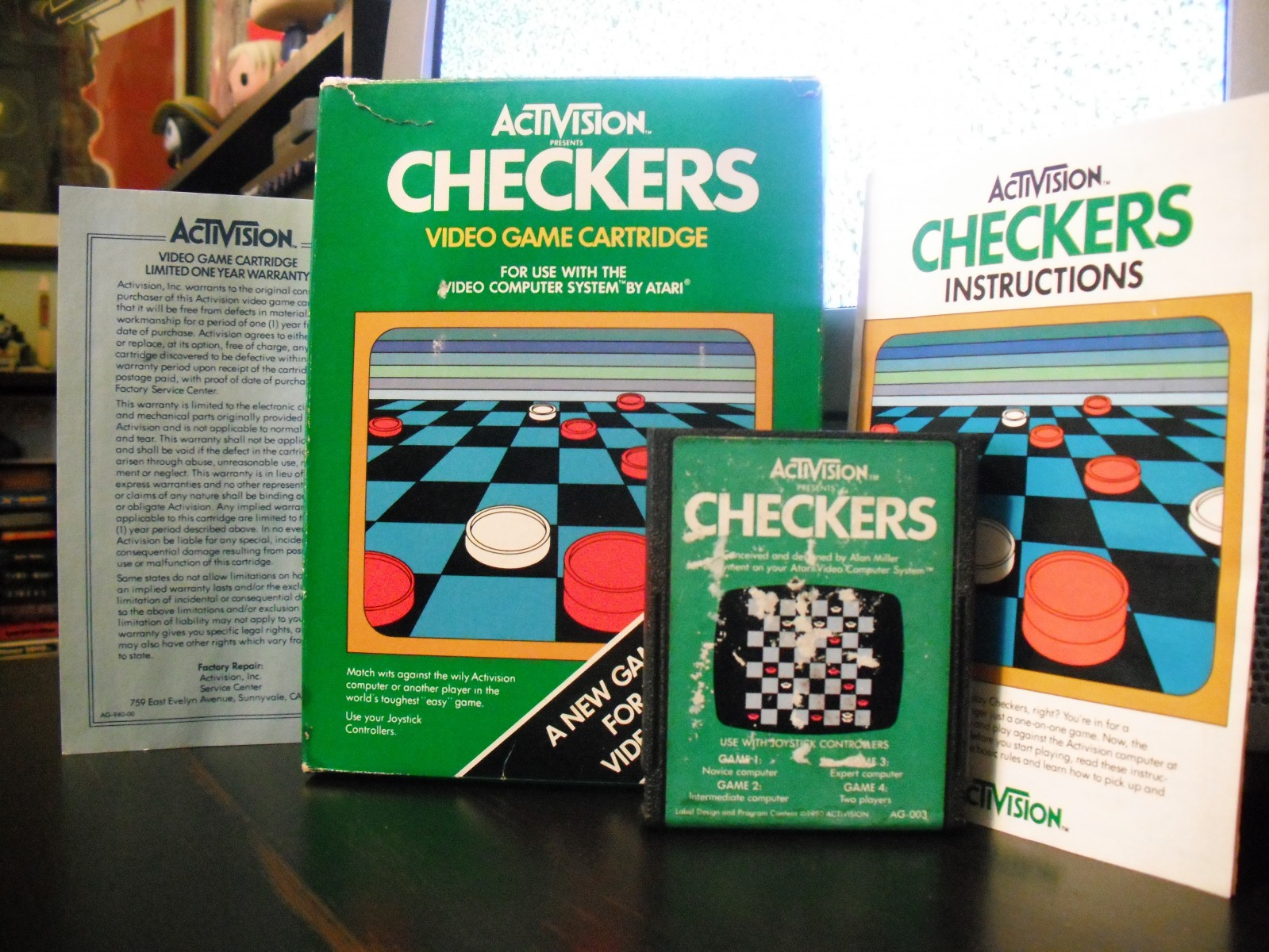 Checkers (Activision) (Boxed)